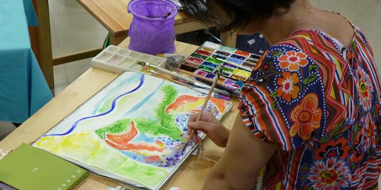 水彩画コース